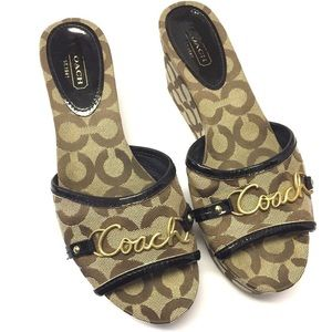 Coach | Carissa Wedge Heels